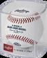 A Rawlings Atlanta Braves 150th anniversary baseball in a clear display cube - SKU: EA-ROMLBATL150-R image number null