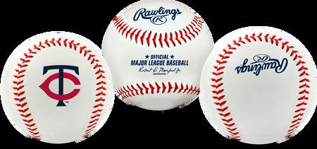 3 views of a MLB Minnesota Twins baseball
