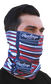 Rawlings Adult Multi-Functional Head and Face Gear   Flag & Bats image number null