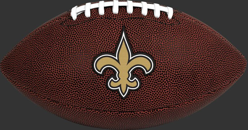 Brown NFL New Orleans Saints Football With Team Logo SKU #07081077811