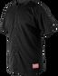 Adult Short Sleeve Jersey Black