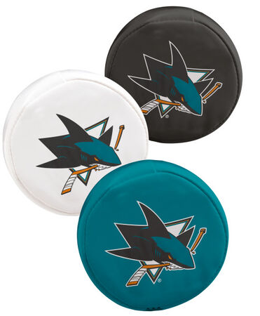 NHL San Jose Sharks Three Puck Softee Set