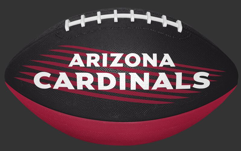 Red and Black NFL Arizona Cardinals Downfield Youth Football With Team Name SKU #07731081121