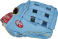 Thumb of a Columbia blue 2021 Kris Bryant 12.25-Inch Heart of the Hide glove with a Columbia blue H-web - SKU: RSGPROKB17-6CBG image number null
