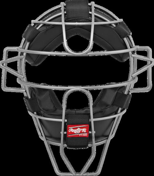 Adult Lightweight Hollow Wire Catcher/Umpire Mask Black