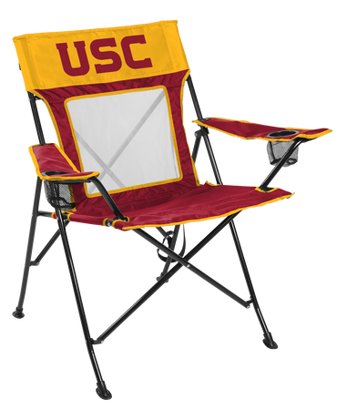 NCAA USC Trojans Game Changer chair with the team logo
