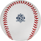 Atlanta Braves 150 year anniversary logo stamped on a MLB baseball - SKU: EA-ROMLBATL150-R image number null