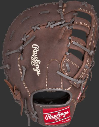 PFBDCT 12.5-inch Player Preferred recreational first base mitt with a brown back