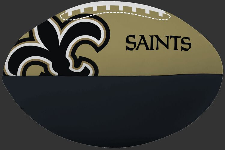 NFL New Orleans Saints Big Boy softee football printed in team colors and features team logos SKU #03211077111