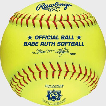 "Babe Ruth Official 11"" Softballs"