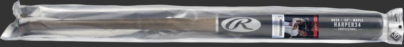 BH34PL Rawlings Bryce Harper wood bat in a Woodsaver package