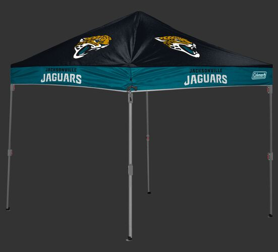 Rawlings Black and Teal NFL Jacksonville Jaguars 10x10 Canopy Shelter With Team Logo and Name SKU #03221091111