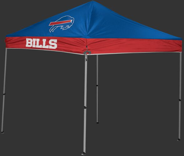 Rawlings Blue and Red NFL Buffalo Bills 9x9 Canopy Shelter With Team Logo and Name SKU #03231061111
