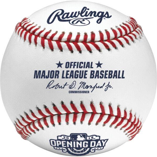 MLB 2017 Opening Day Baseballs