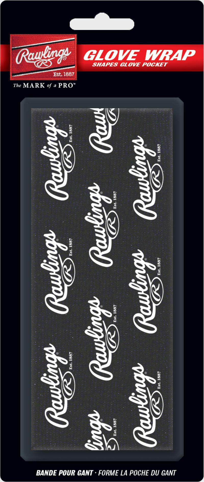 Rawlings Black Glove Wrap With Brand Name SKU #GW