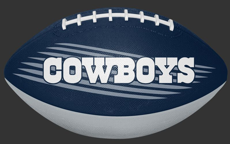 Navy NFL Dallas Cowboys Downfield Youth Football With Team Name SKU #07731065121