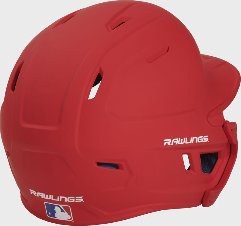 Mach Left Handed Batting Helmet with EXT Flap | 1-Tone & 2-Tone