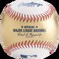 A gold/white MLB gold official MLB baseball - SKU: RSGEA-ROMLBG/W-R image number null