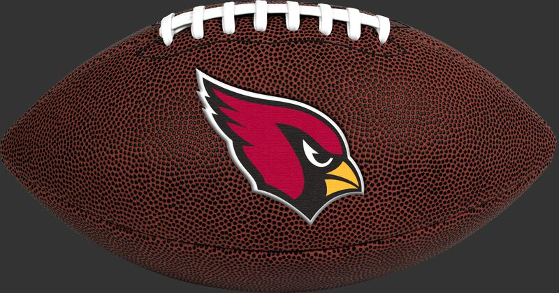 Brown NFL Arizona Cardinals Football With Team Logo SKU #07081081811