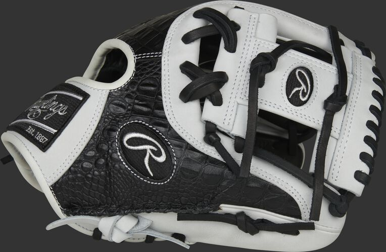 Thumb of a 2020 Heart of the Hide R2G croc infield glove with a white I-web - SKU: PROR204-2BCW