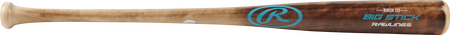 I13RBF Big Stick birch wood bat with a flame treated barrel