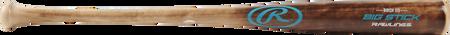 I13RBF Big Stick birch wood bat with a flame treated barrel