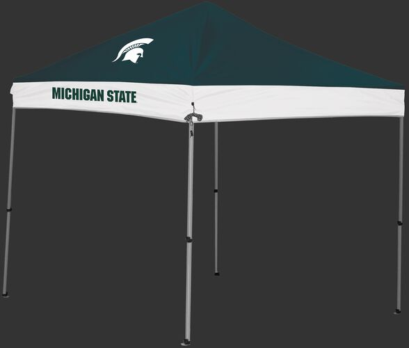 Rawlings Green and White NCAA Michigan State Spartans 9x9 Canopy Shelter With Team Logo and Name SKU #04033038111