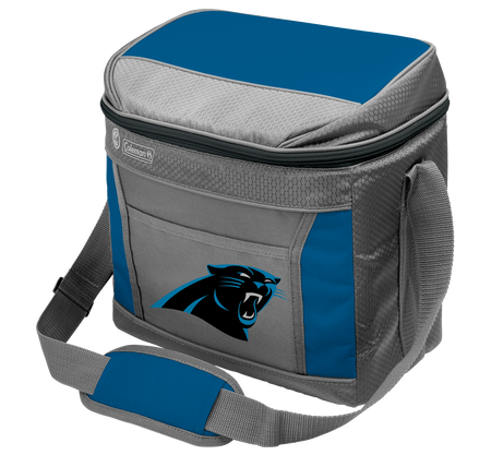 Rawlings Carolina Panthers 16 Can Cooler In Team Colors With Team Logo On Front SKU #03291090111