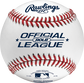 ROLB Official League youth tournament baseball with raised seams image number null