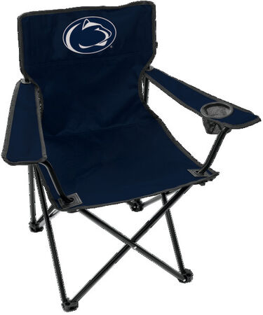 Front of Rawlings Navy NCAA Penn State Nittany Lions Gameday Elite Chair With Team Logo SKU #00563050111