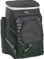 Front left angle of a dark green Rawlings Impulse bag with gray accents - SKU: IMPLSE-DG image number null