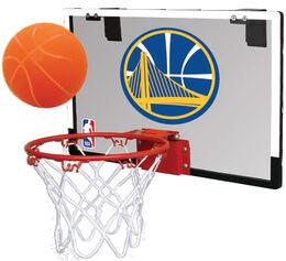 NBA Golden State Warriors Game On Hoop Set