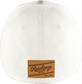Rawlings Black Clover Leather Patch Flat Bill Hat image number null