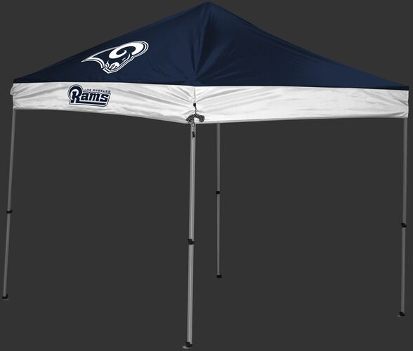 NFL Los Angeles Rams 9x9 shelter with team logos and colors