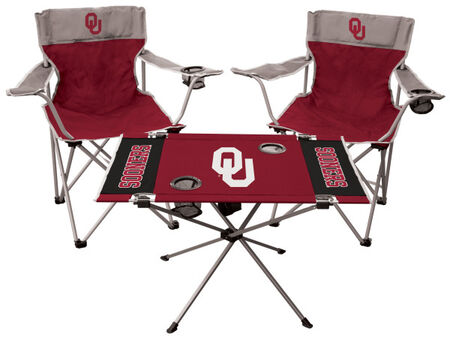NCAA Oklahoma Sooners 3-Piece Tailgate Kit