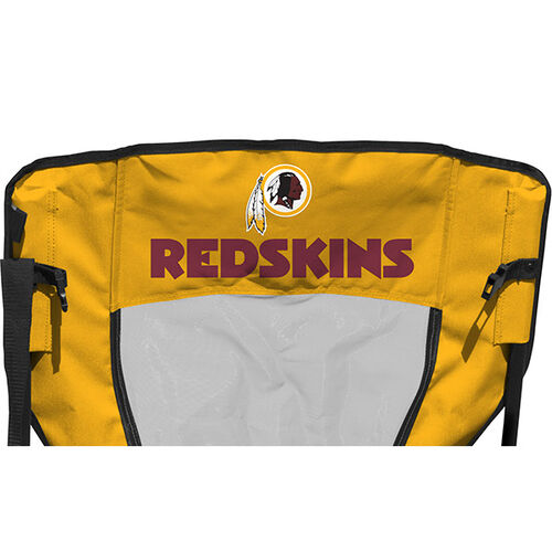 Back of Rawlings Yellow and Burgundy NFL Washington Redskins High Back Chair With Team Name SKU #09211087518