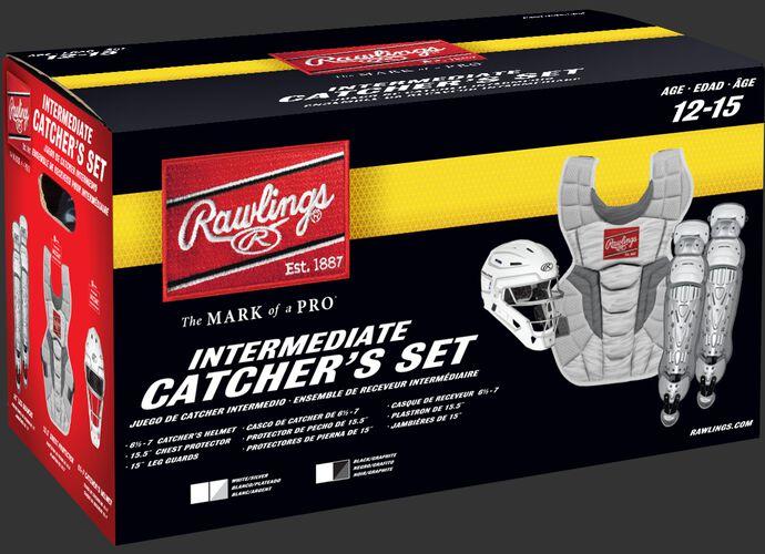 CSV2I Intermediate Rawlings Velo 2.0 Catcher's Gear set box
