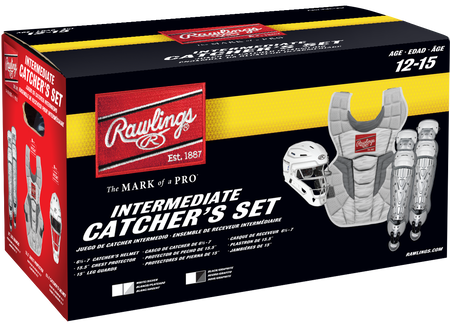 CSV2I Intermediate Rawlings Velo 2.0 Catcher's Gear set box