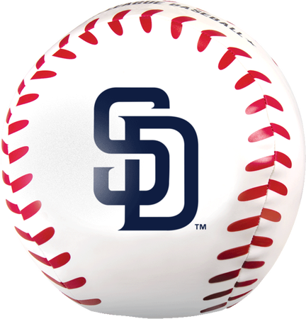 MLB San Diego Padres Big Boy 8 in Softee Baseball