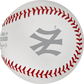 The New York Yankees logo stamped on the ALCS19DL ALCS dueling teams ball image number null
