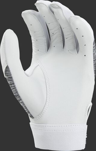 White palm of a PFWSBG women's storm batting glove