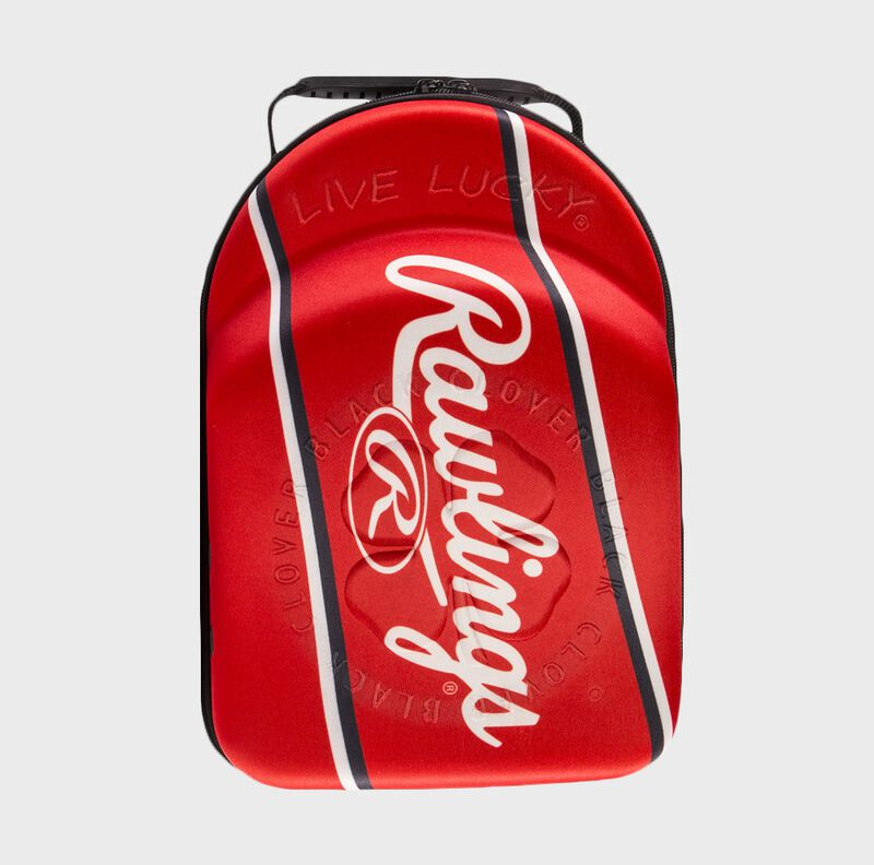 Rawlings Black Clover Red Patch Hat Caddie | Special Edition