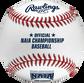 FSR100NAIA NAIA Flat seam baseball with the official NAIA logo image number null