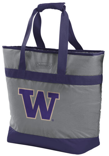 Rawlings Washington Huskies 30 Can Tote Cooler In Team Colors With Team Logo On Front SKU #07883108111
