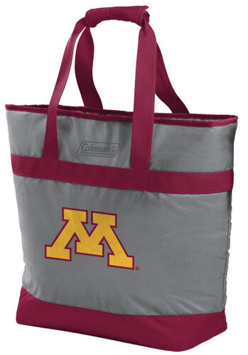 Rawlings Minnesota Golden Gophers 30 Can Tote Cooler In Team Colors With Team Logo On Front SKU #07883085111