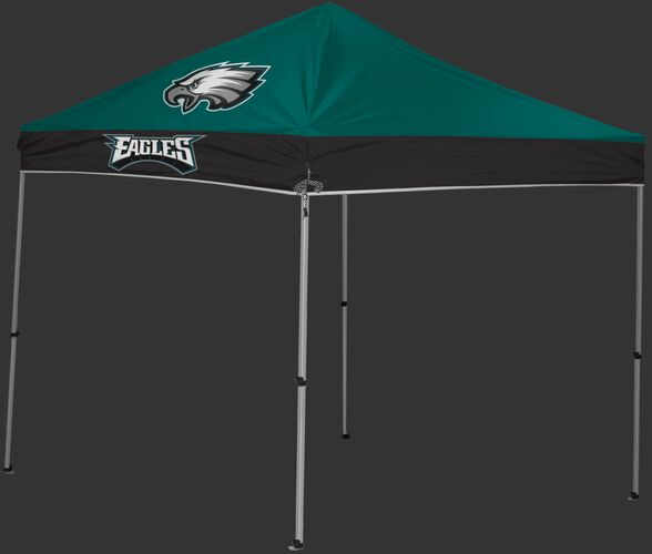 Rawlings Green and Black NFL Philadelphia Eagles 9x9 Canopy Shelter With Team Logo and Name SKU #03231080111