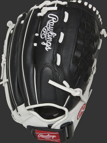 RSO130BW 13-inch Shut Out outfield/pitcher's glove with a black back and Velcro wrist strap