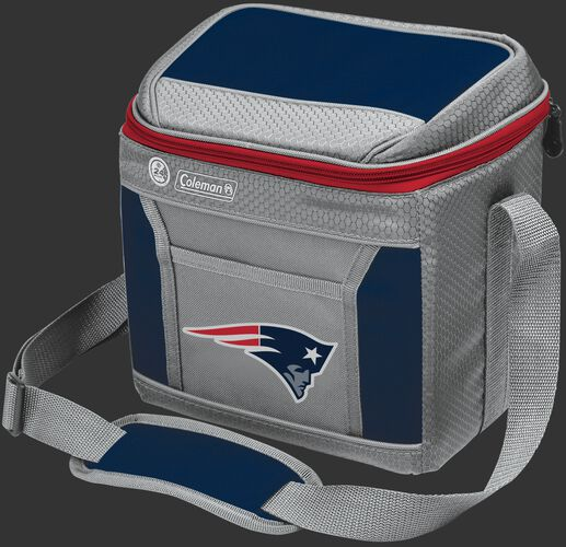 Rawlings New England Patriots 9 Can Cooler In Team Colors With Team Logo On Front SKU #03281076111