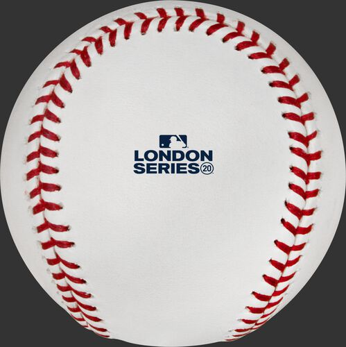 London Series stamp on an Official MLB baseball - SKU: EA-ROMLBLS20-R