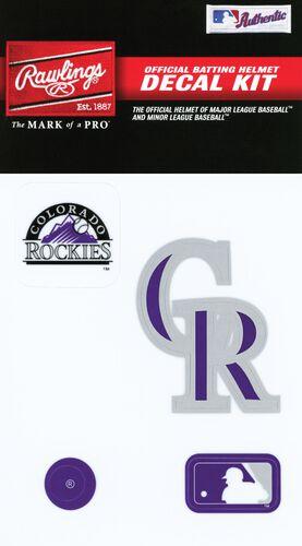 MLB Colorado Rockies Decal Kit